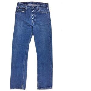 Vintage 80s USA Levi's 501 Button Fly Jean